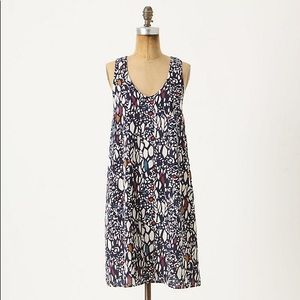 Anthro Edme & Esyllte Chroma Mosaic Dress Size S